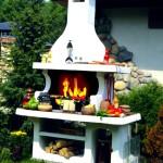 садовый мангал-гриль