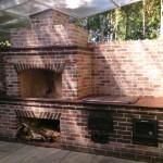 кирпичные печи барбекю: проектирование, строительство, кладка, монтаж