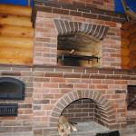 барбекю строительство из кирпича, камня, бетона