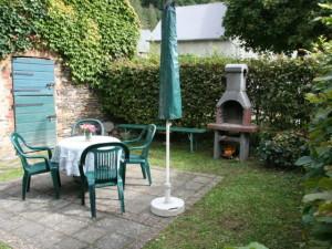 Площадка для отдыха с мангалом