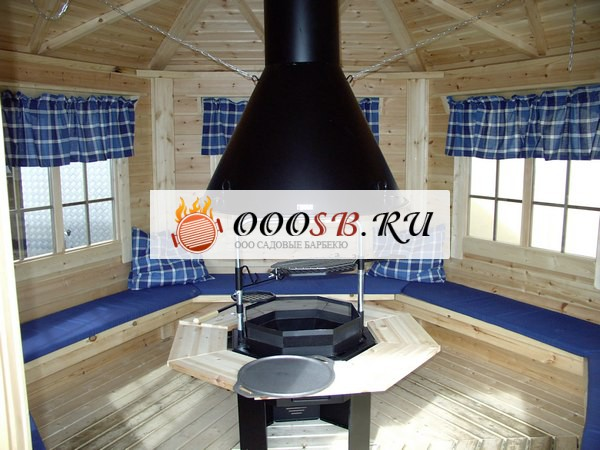 Баня с террасой и барбекю – идеальный вариант для отдыха всей семьей!