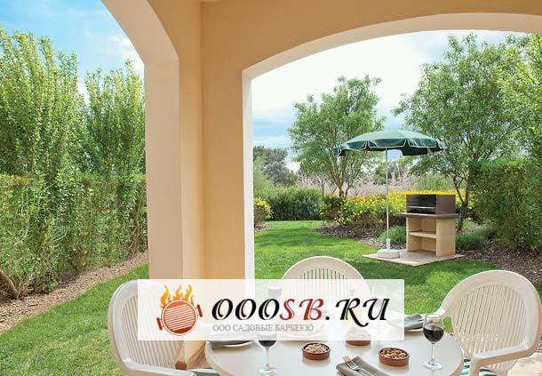 Выбираем барбекю печь для патио на даче и строим площадку