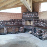 недорогие барбекю мангалы для дачи из кирпича и бетона