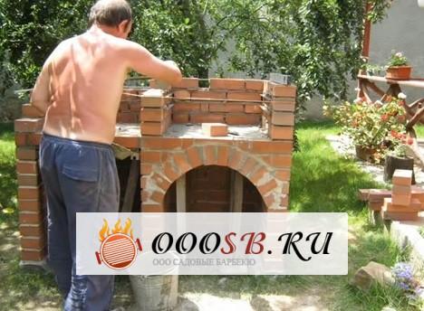 Строим барбекю печь: пошаговое строительство, материалы и место для установки мангала