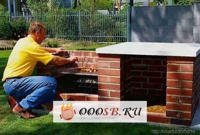 Строительство печей барбекю для дачи своими руками — особенности процесса