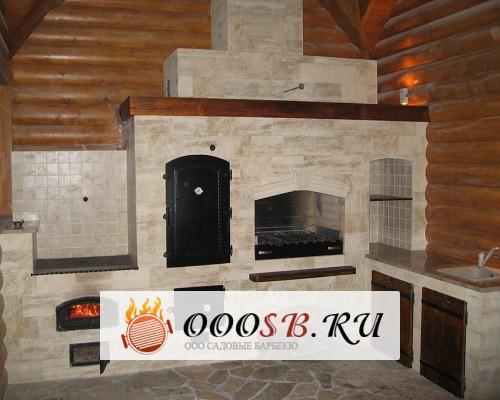 Барбекю с казаном и коптильней: печь для сказочного отдыха на даче