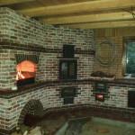 строительство барбекю печи в доме