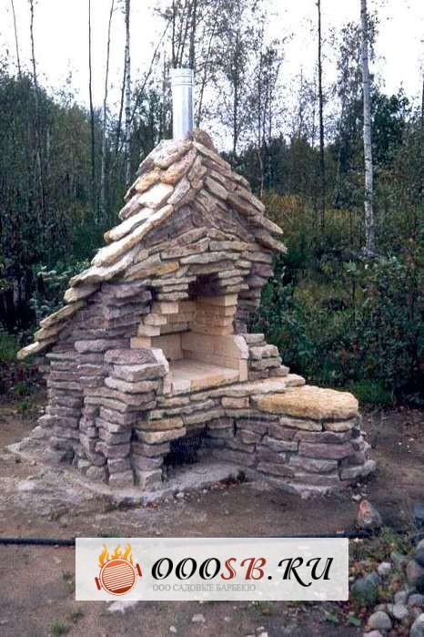 Мангал из натурального камня: роскошь, доступная каждому