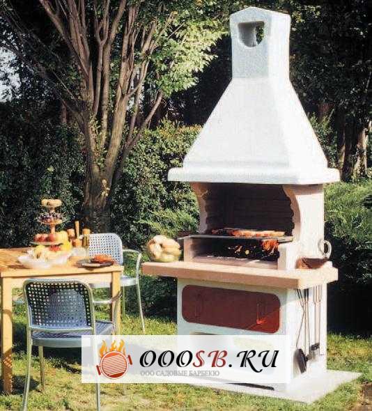 готовая дачная садовая барбекюшница для дачи
