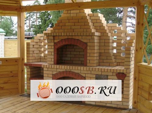 Уличная печь для дачи из кирпича — преимущества готовых конструкций