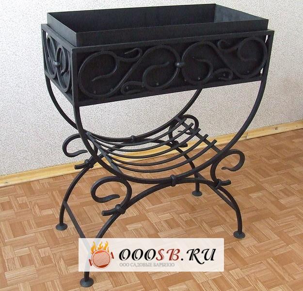 Кованые мангалы с крышей: соотношение цены и качества кованых жаровен