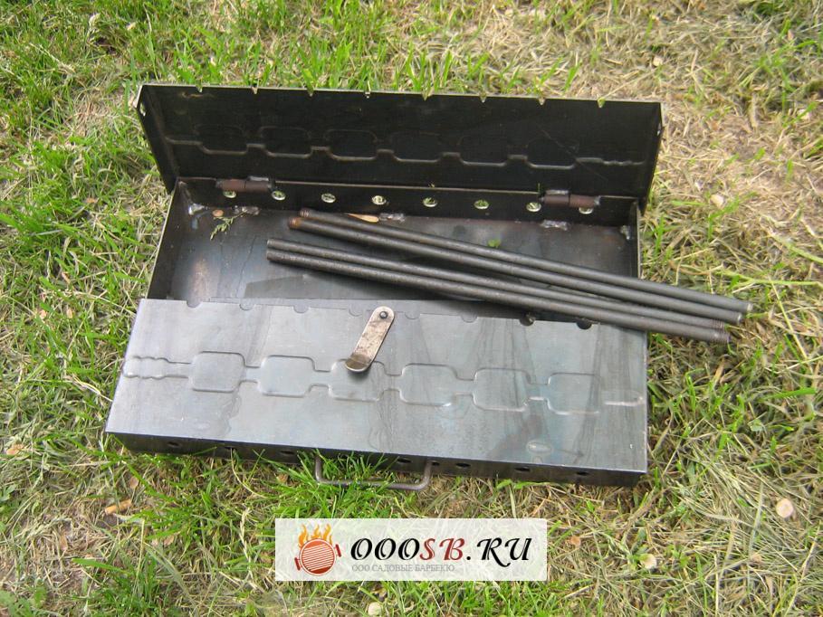 Как правильно выбрать мангал чемодан: оптимальные параметры складных металлических конструкций для качественного приготовления шашлыка