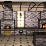 проектирование печей, каминов, барбекю, мангалов