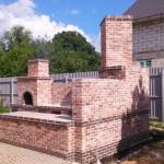 построить барбекю комплекс в саду