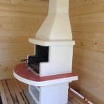 жаровня для шашлыка из бетона