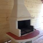 барбекю на угле и дровах