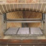 мангал вставка из нержавеюшей стали для барбекю из кирпича