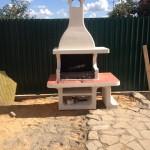 готовая барбекюшница для дачи