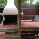 барбекю печь из огнеупорного бетона
