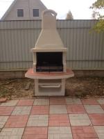 дачная садовая барбекюшница жаровня для шашлыка
