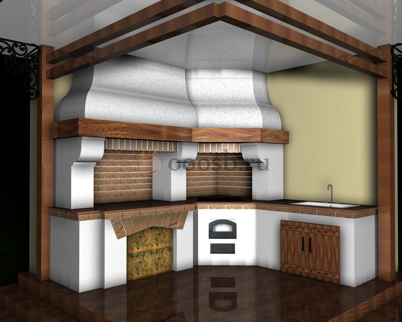 Новый дизайн печей барбекю