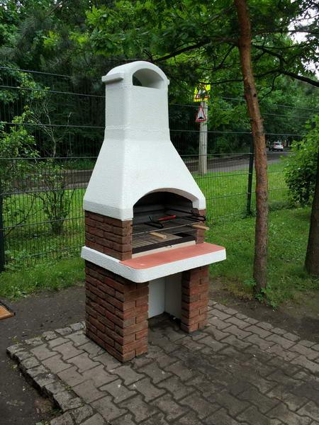 садовая дачная печь барбекю для сада