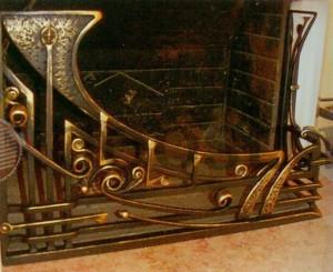 Решетка из бронзы