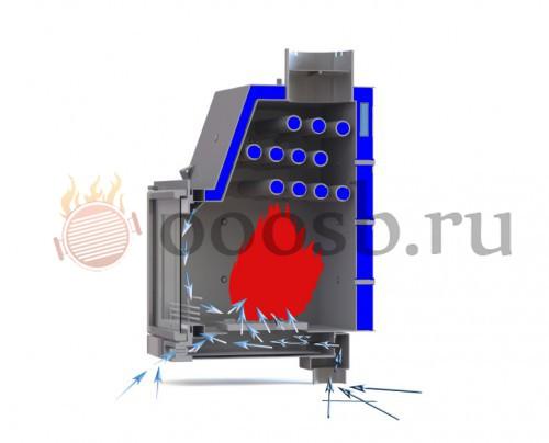 Как выбрать камин для водяного отопления дома