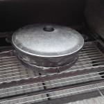мангал в барбекю печи