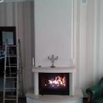 фото камина в квартире