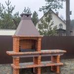 дизайн проект барбекю печи на даче
