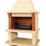 небольшая садовая барбекю печка для дачи