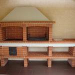 дровяная печка для барбекю