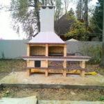 модульная готовая заводская печка для барбекю