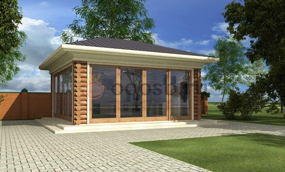 проект беседки для загородного дома