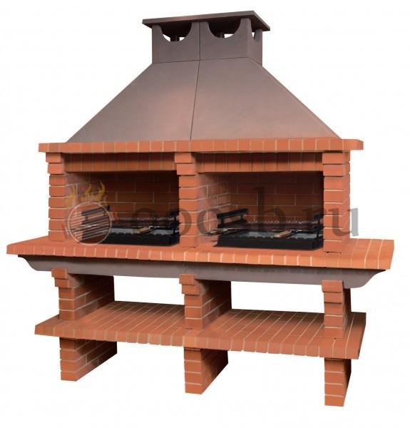 мангальный барбекю комплекс для кафе или ресторана
