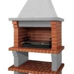 бетонная барбекюшница с мангалом