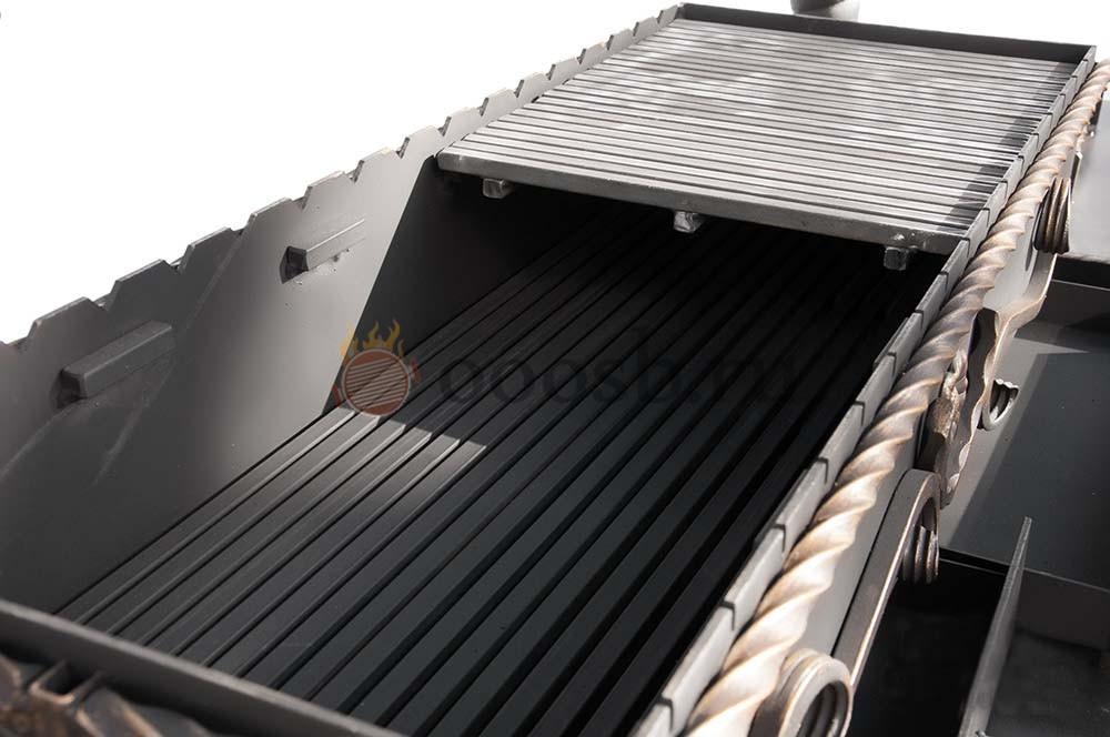 стальная жаровня вставка для мангала