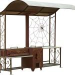 Мангал с паутиной, жаровня для шашлыка, печь под казан и столик