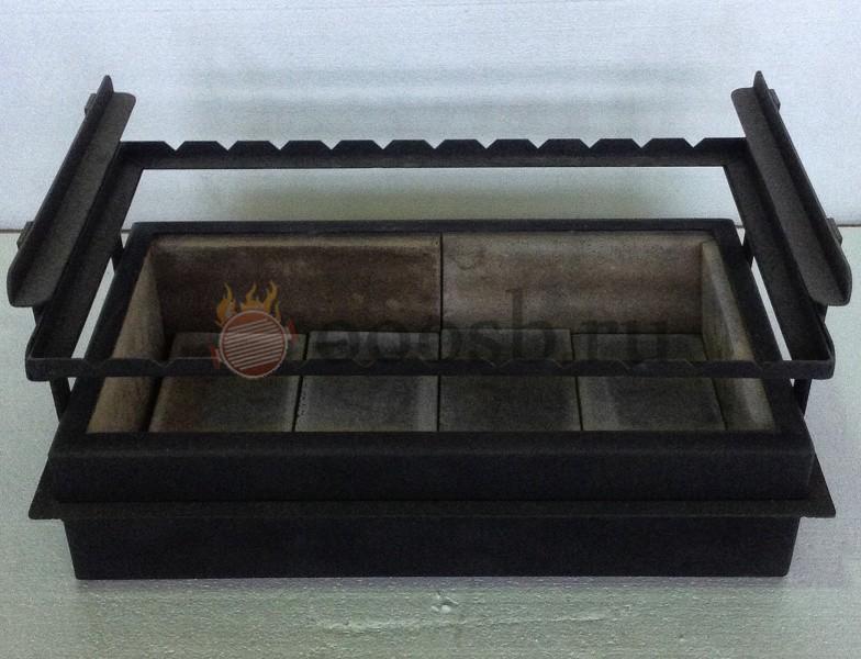 мангал вставка для барбекю печей