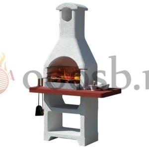 готовая барбекю печь из италии недорого