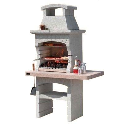 дачная уличная печь барбекю