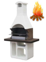 дровяная барбекю печь