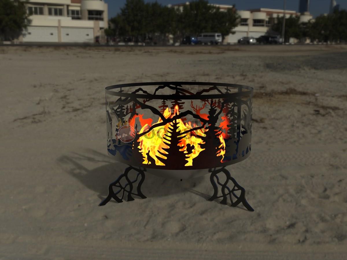 Выбираем очаг для огня: какое изделие лучше для дачи?