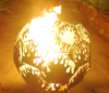 Чаша для костра «Языки пламени»
