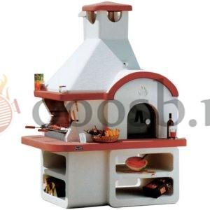 печь барбекю мангал с русской печью