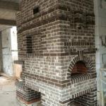 печной комплекс барбекю с русской печью и камином