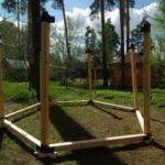 Обвязка и вертикальные стойки
