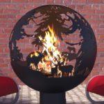 пламя в сфере для костра