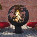 костровая сфера для огня